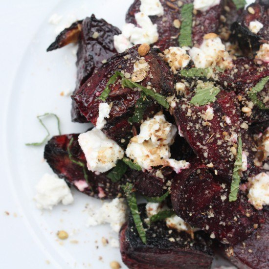 Rezept Randensalat mit Dukkah (Rote-Bete-Salat)