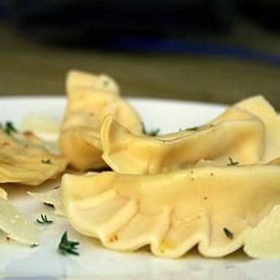 Rezept Ravioli mit Haselnussfüllung