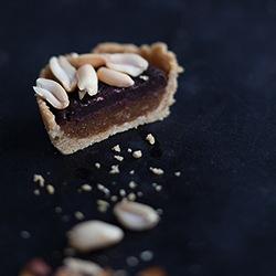 Rezept Raw Peanut Caramel Pie