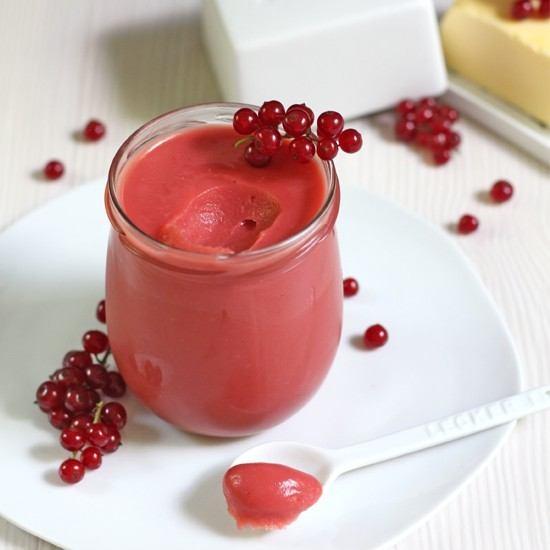 Rezept Red Currant Curd / Johannisbeer Creme