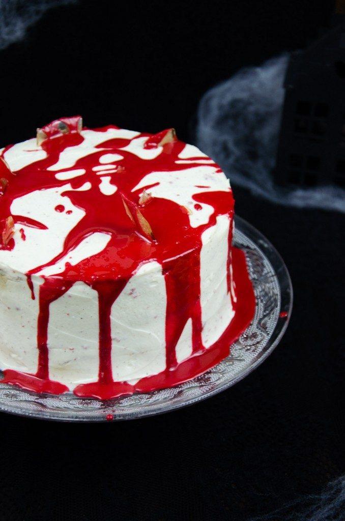 Rezept Red Velvet Cake für Halloween