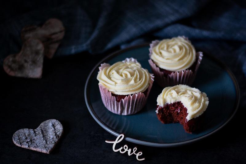 Rezept Red Velvet Cupcakes zum Verlieben