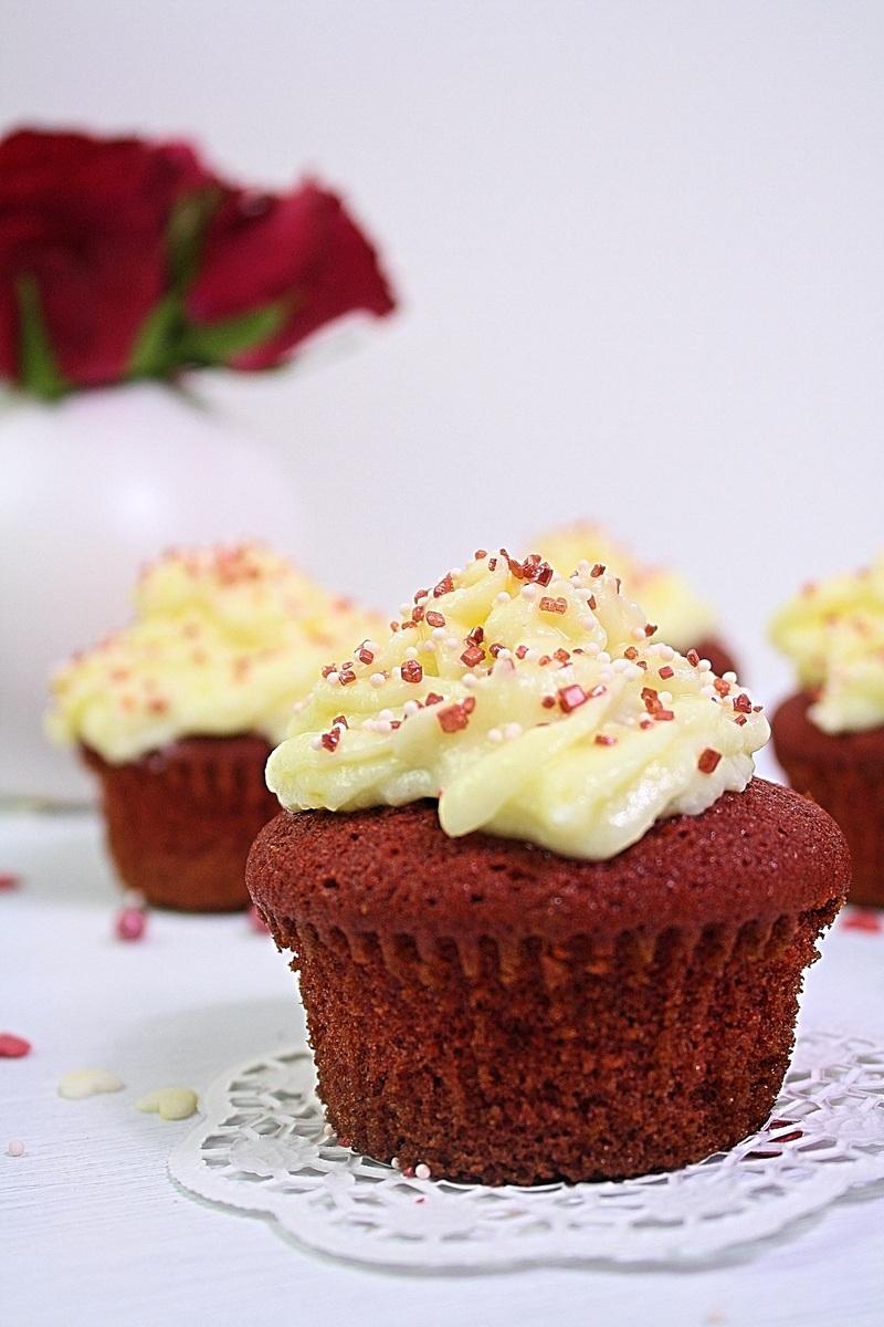 Rezept Red Velvet Cupcakes