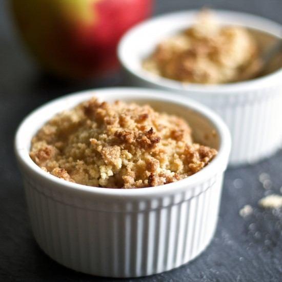 Rezept Rhabarber-Apfel-Crumble