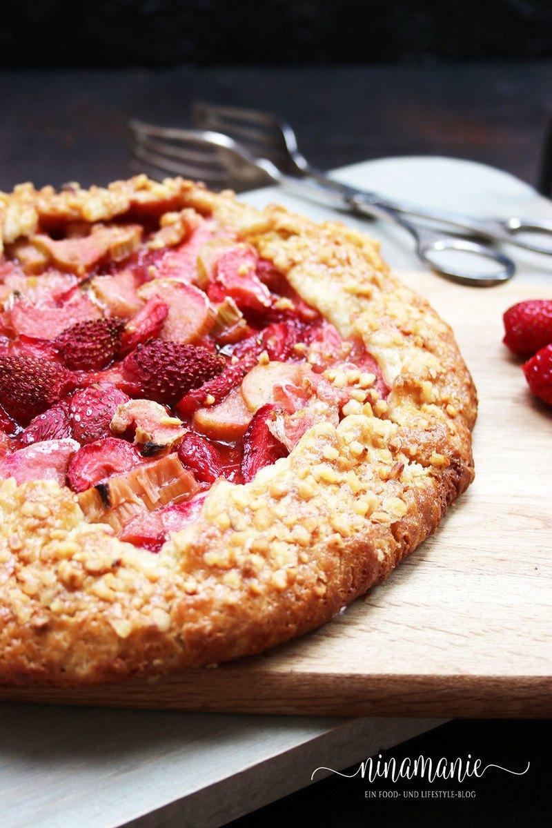 Rezept Rhabarber-Crostata und Rhabarber-Erdbeer-Crostata