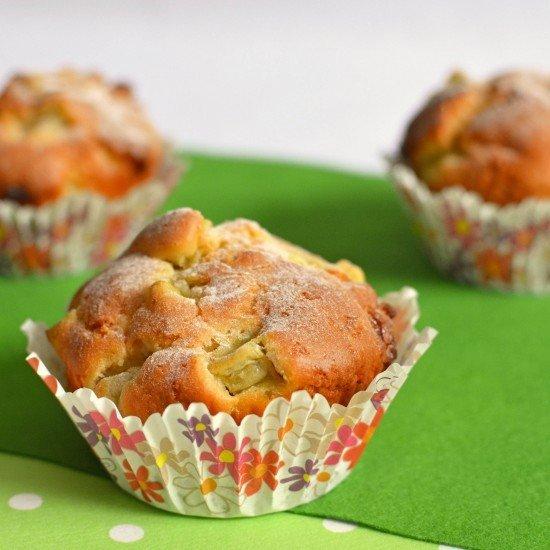 Rezept Rhabarber Muffins
