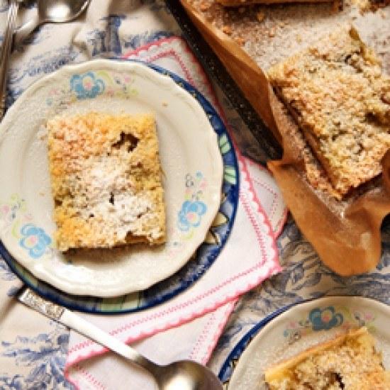 Rezept Rhabarberkuchen mit Streuseln