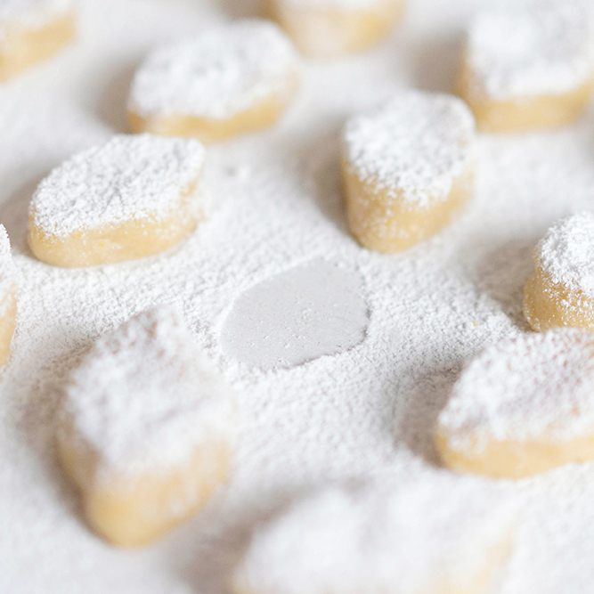 Rezept Ricciarelli - Italienische Mandelkekse