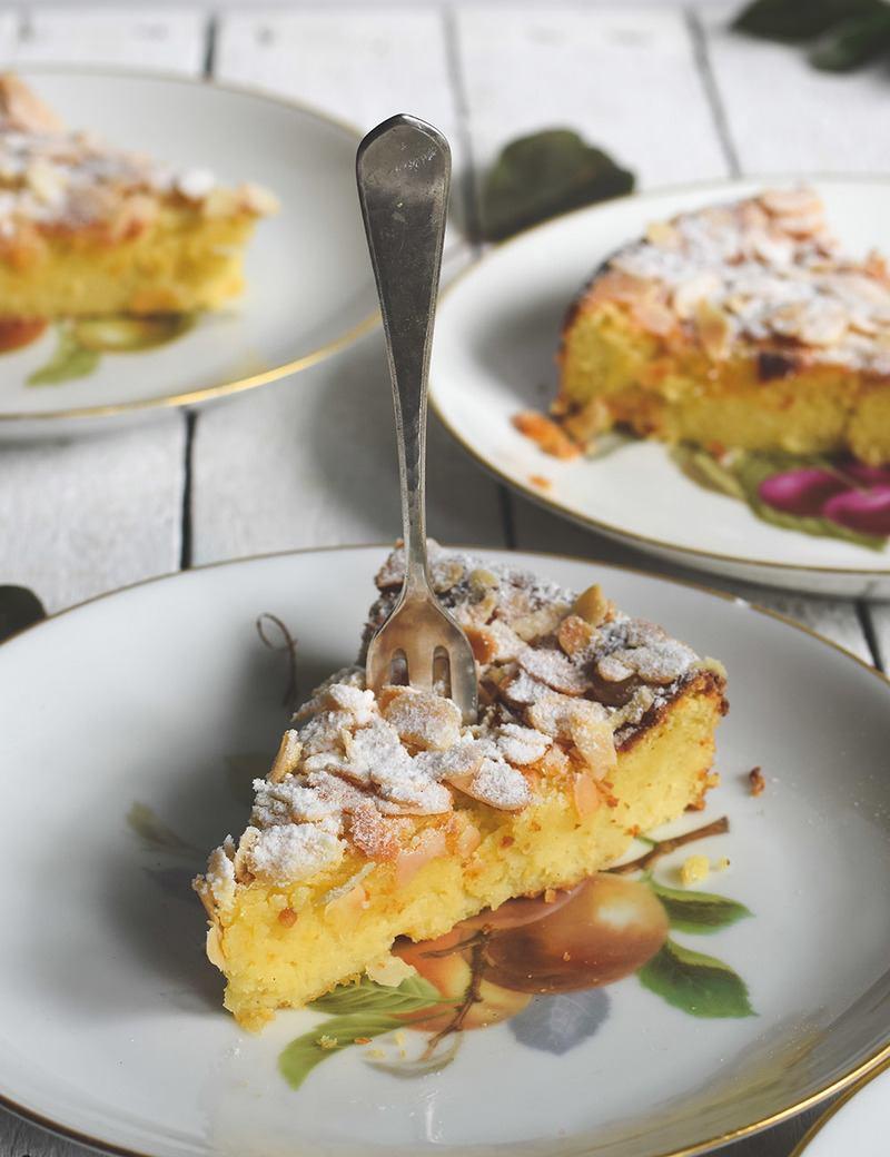 Rezept Ricotta Mandel Kuchen