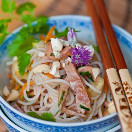Rezept Rindfleisch-Nudelsalat Asia-Style