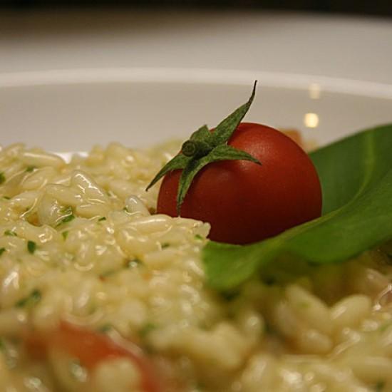 Rezept Risotto all' aglio orsino