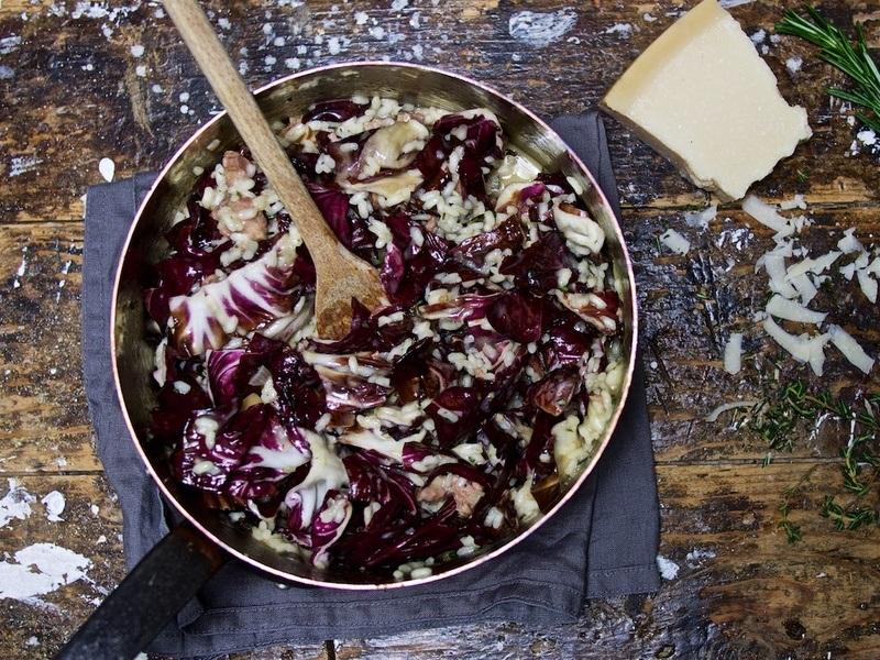 Rezept Risotto mit Salsiccia und Radicchio