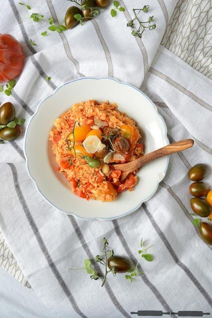 Rezept Risotto mit Tomaten der Saison