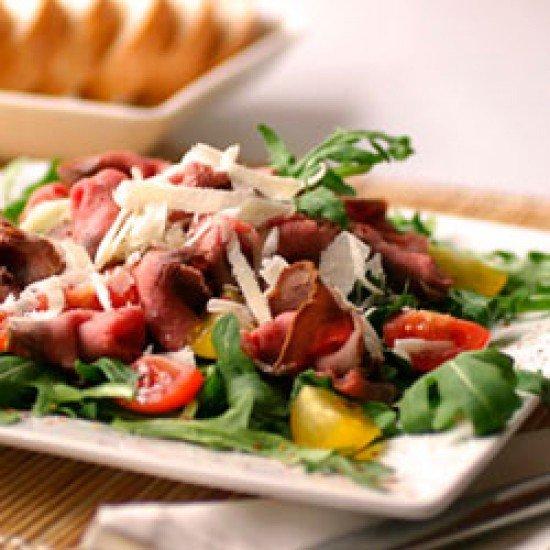 Rezept Roastbeefsalat mit Dijon-Dressing