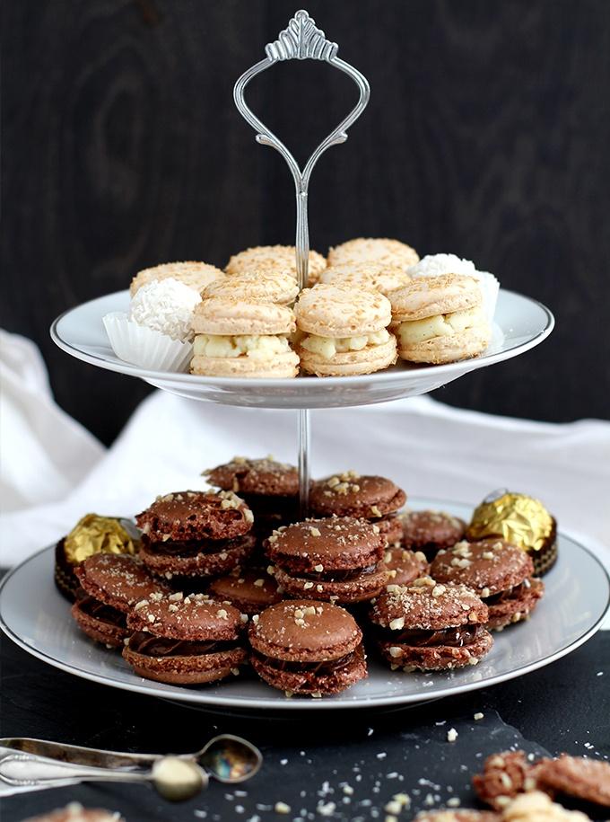 Rezept Rocher- und Raffaello Macarons
