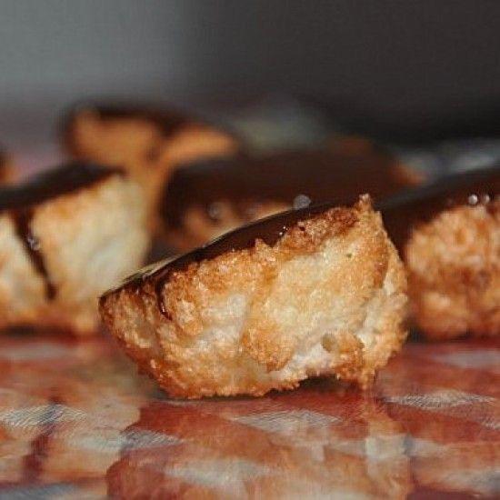 Rezept Rochers à la noix de coco (Kokosmakronen)