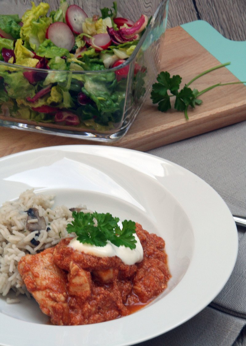 Rezept Rogan Josh - Indisches Curry mit Huhn