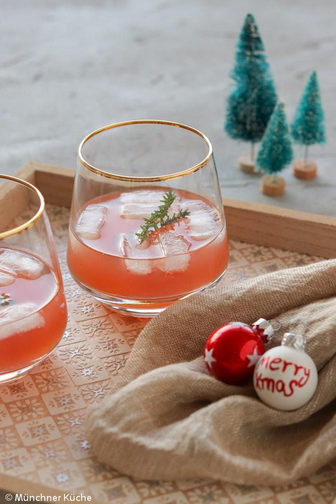 Rezept Rosa Weihnachtspunsch