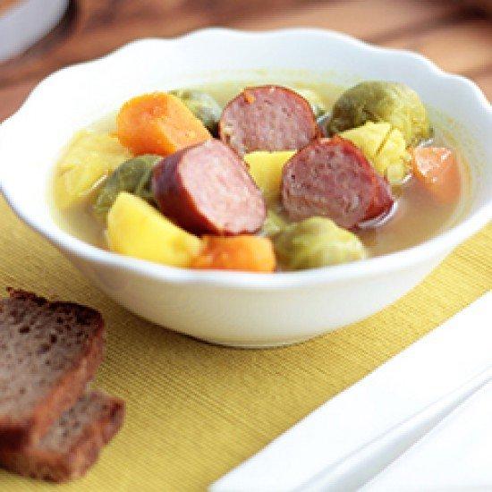 Rezept Rosenkohl-Kartoffel-Eintopf