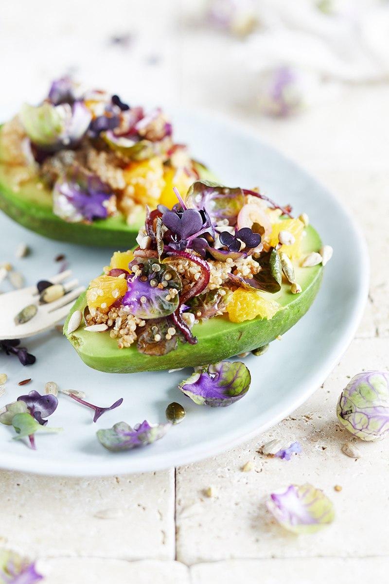 Rezept Rosenkohl-Orangen Avocado