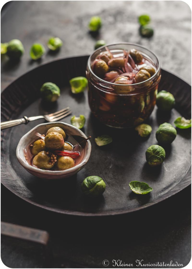 Rezept Rosenkohl-Pickles