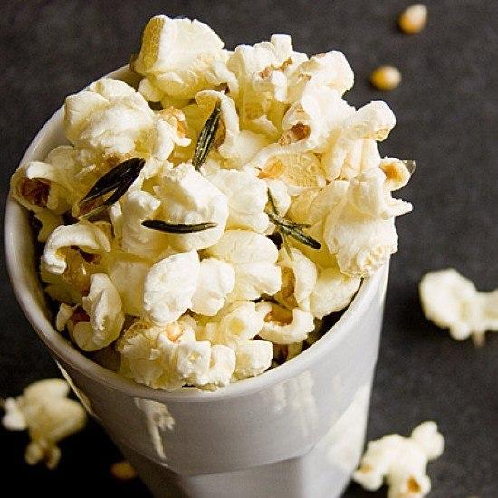 Rezept Rosmarin-Popcorn