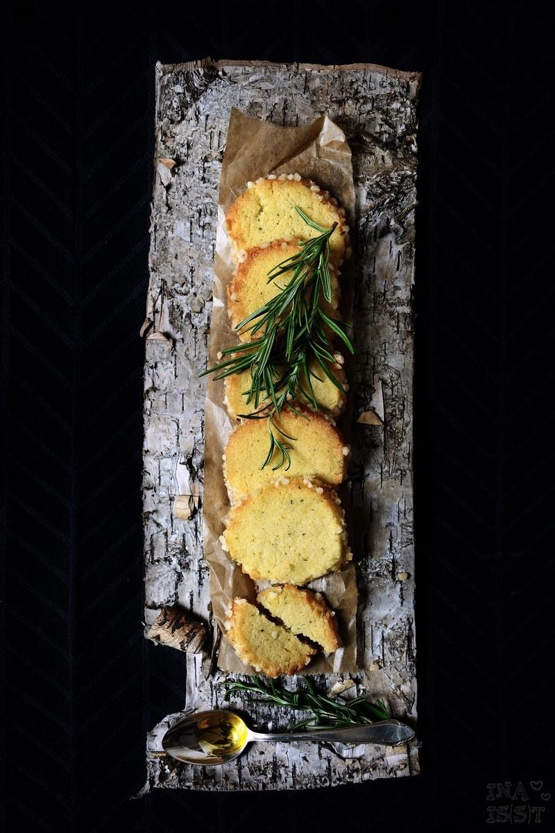 Rezept Rosmarinkekse mit Olivenöl und Orange