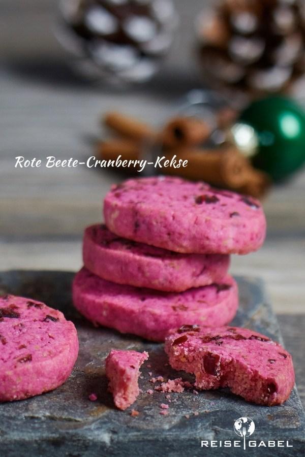 Rezept Rote Beete-Cranberry-Kekse
