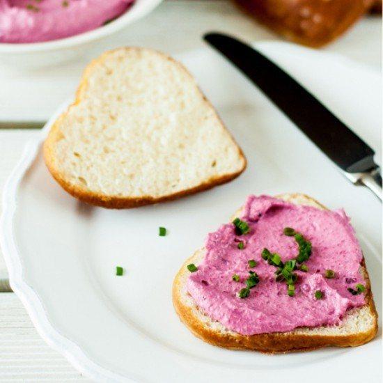Rezept Rote-Beete-Frischkäse