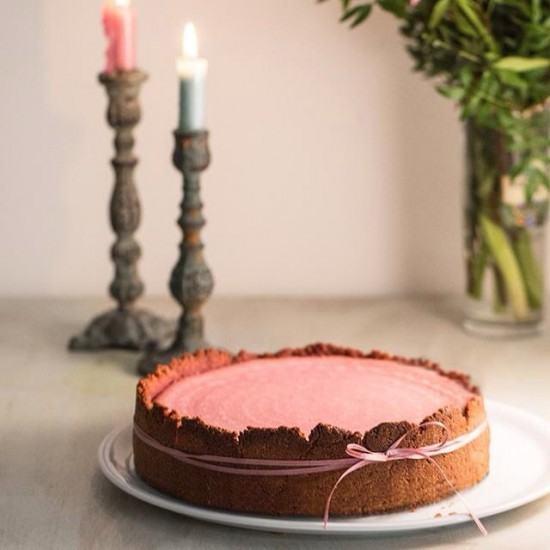 Rezept Rote Beete - Lavendel Cheescake