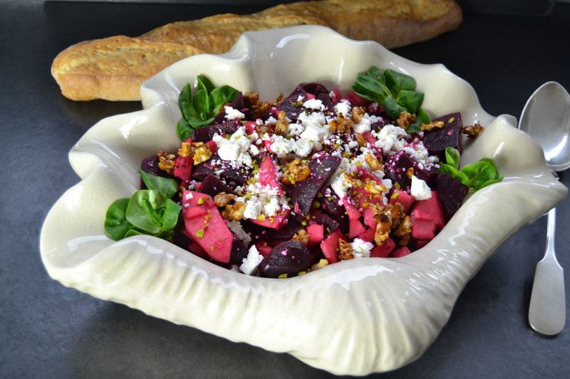 Rezept Rote Bete Apfel Salat nach Jamie Oliver