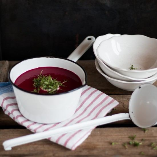 Rezept Rote Bete & Apfel Suppe