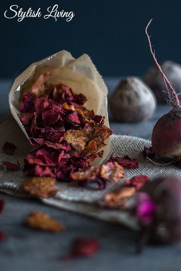 Rezept Rote Bete Chips mit Byodo Essig