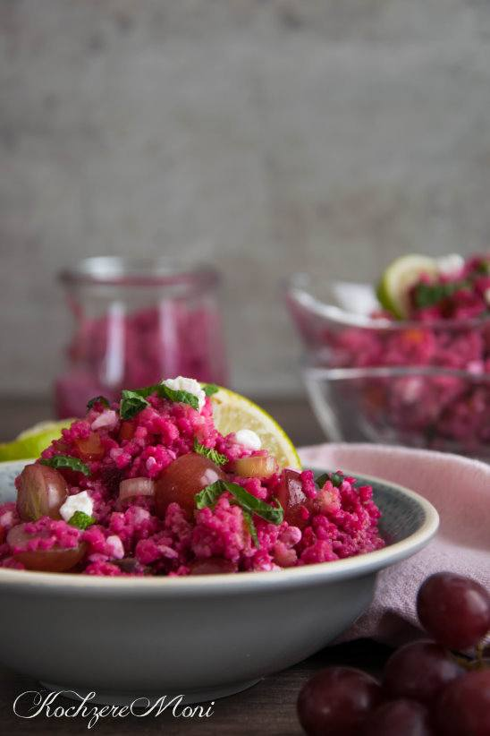 Rezept Rote Bete Couscous Salat