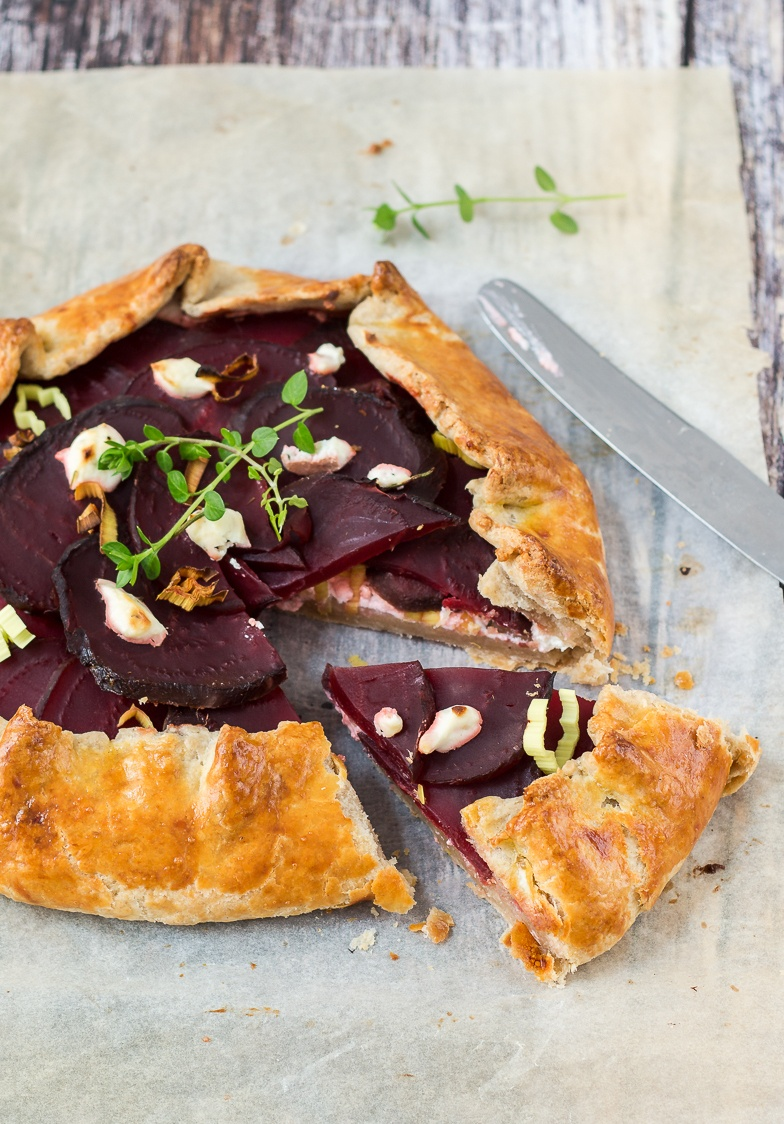 Rezept Rote Bete Galette