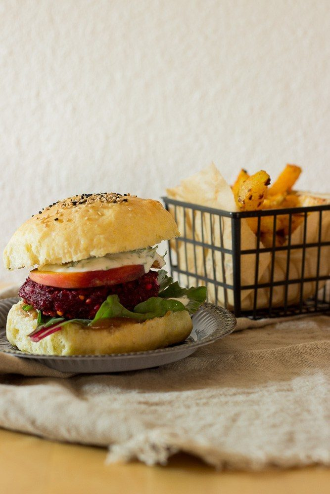 Rezept Rote-Bete-Hamburger