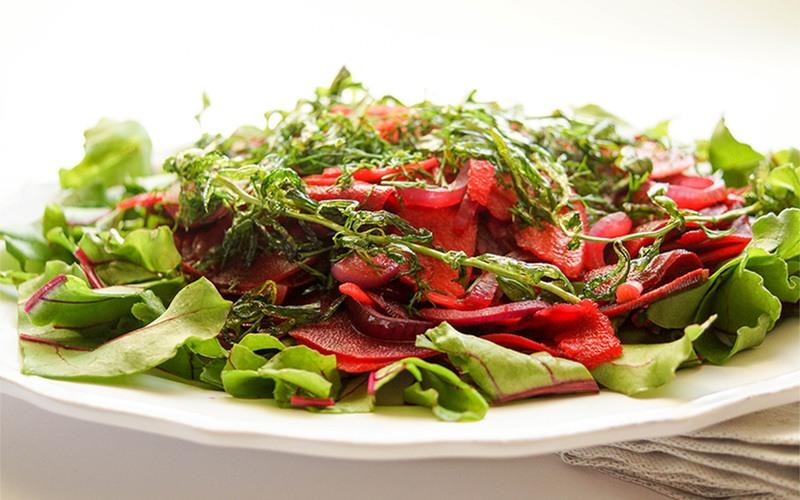 Rezept Rote-Bete-Salat mit Apfel, Dill und Estragon