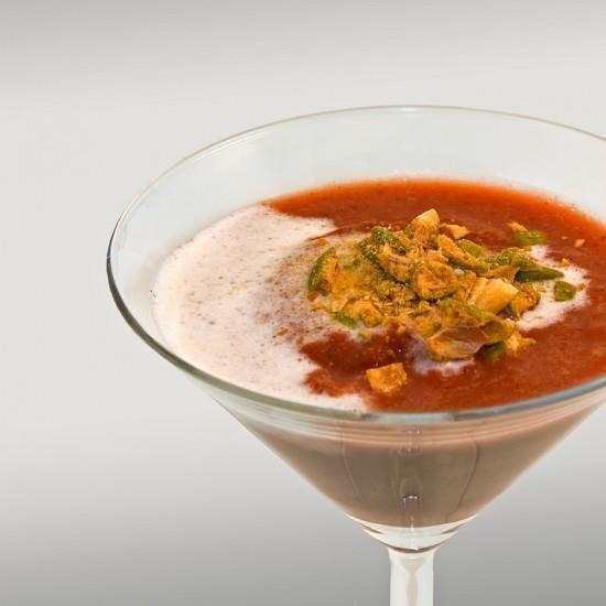 Rezept Rote-Bete-Suppe mit Wasabischaum