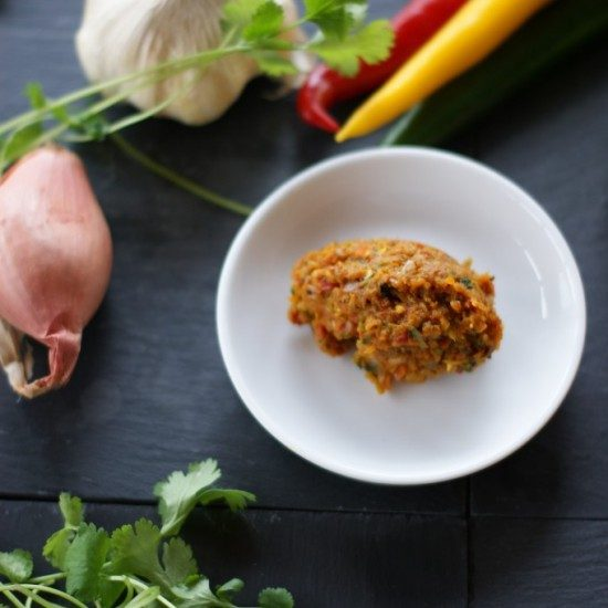 Rezept Rote Currypaste - selbstgemacht