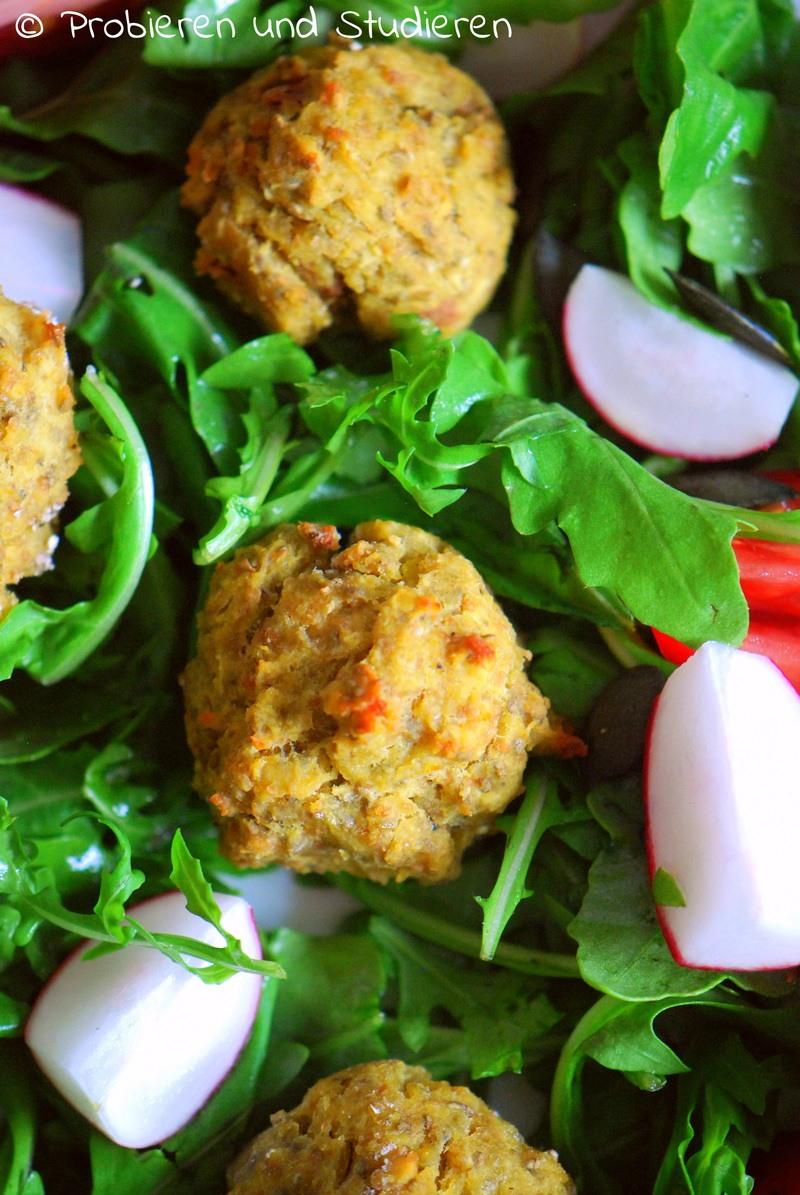 Rezept Rote Linsen Falafel