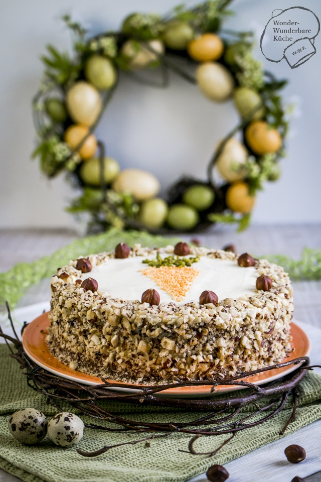 Rezept Rübli-Haselnuss-Torte