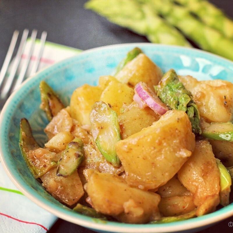 Rezept Rucki-Zucki-Kartoffelsalat – Wenn es schnell gehen muss!