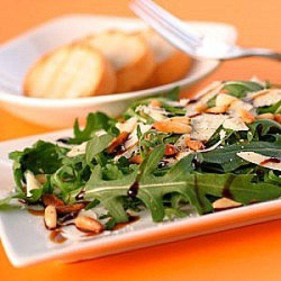 Rezept Rucola-Salat mit Pinienkernen