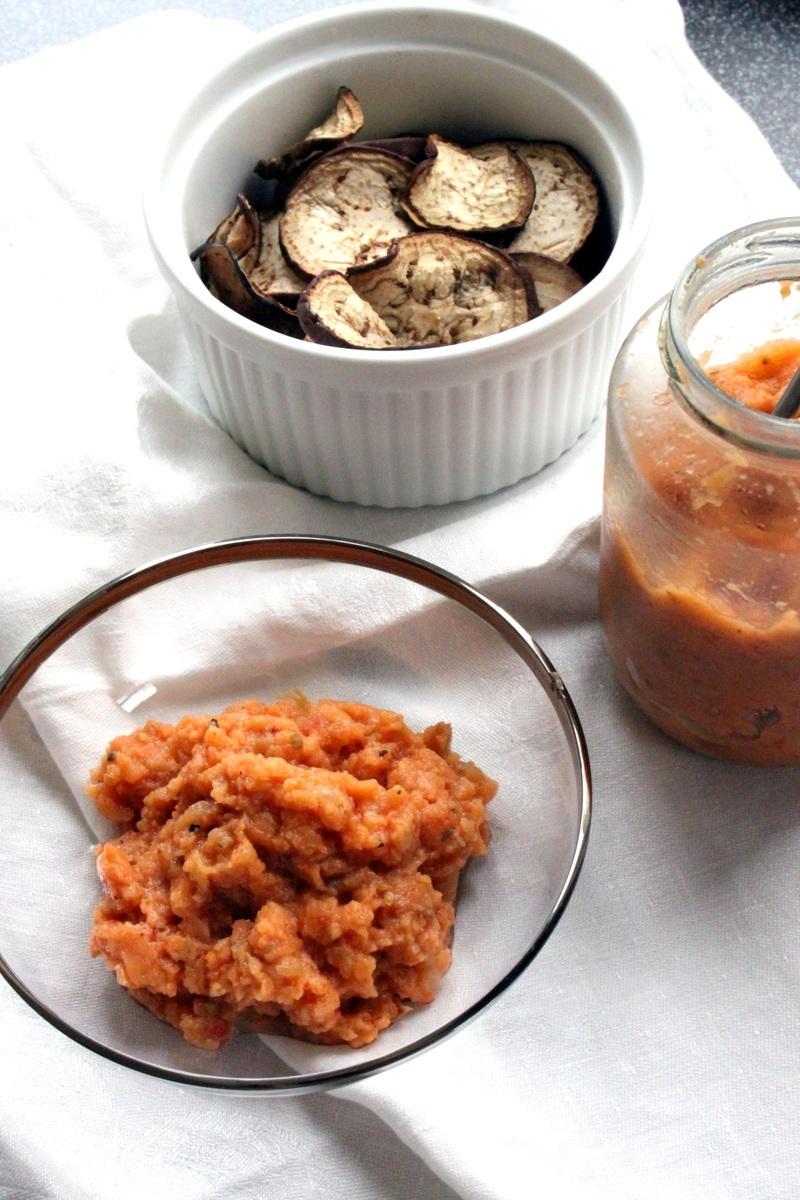 Rezept Russisches Auberginen und Tomaten Kaviar
