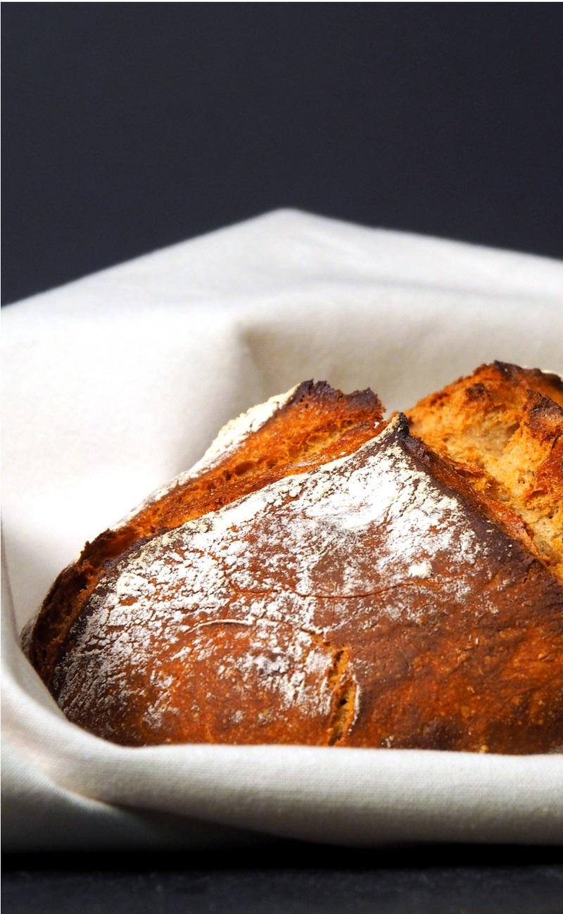 Rezept Rustikales Bauernbrot - ganz ohne Kneten