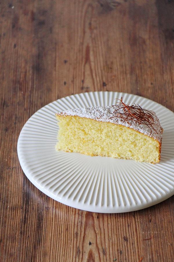 Rezept Safran-Mandel-Kuchen