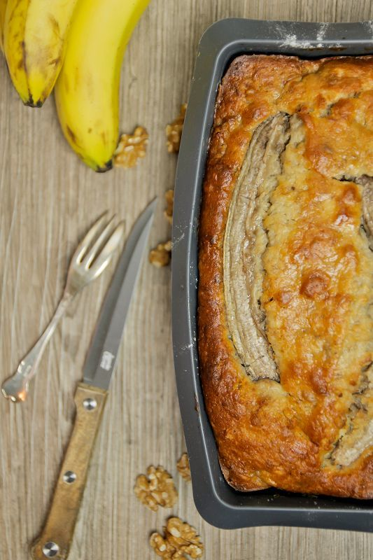 Rezept Saftig-nussiger Bananenkuchen