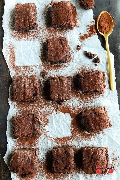 Rezept Saftige Nuss-Brownie-Würfel