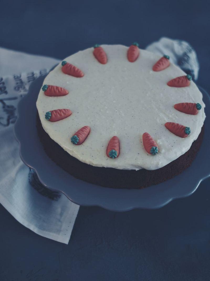 Rezept SAFTIGER CARROT CAKE WIE BEI STARBUCKS