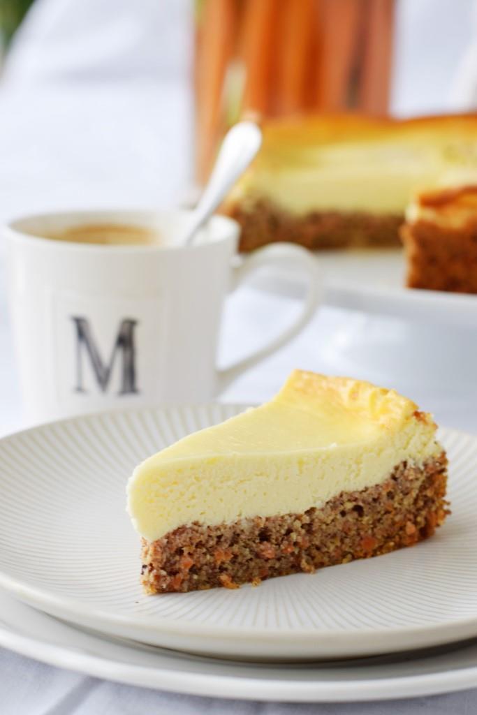 Rezept Saftiger Karotten-Cheesecake